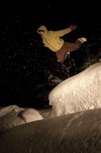 Charlie Cannon sends it... hard.