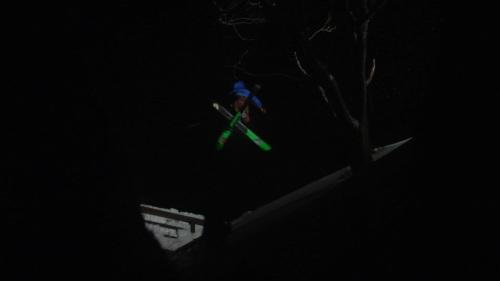 Eben Mond Crossing Through the Night