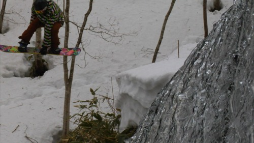 Alex Sending it Over the Waterfall Today