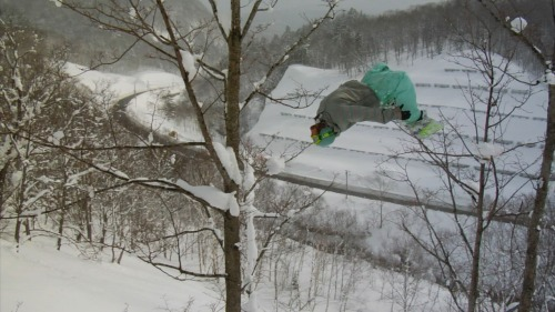 Mike Lays out the Backflip Big