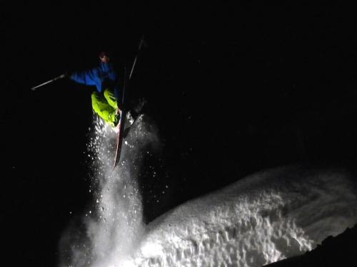 Matt Philippi under the lights
