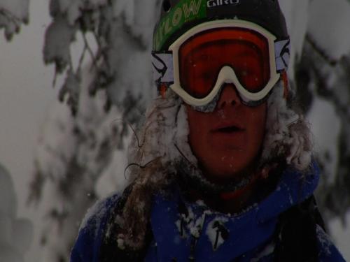 Jake Sakson chasing winter in central Hokkaido